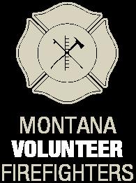 Montana Volunteer Firefighters Logo