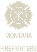 Montana Volunteer Firefighters Mobile Logo